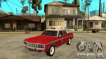 AMC Matador Taxi para GTA San Andreas