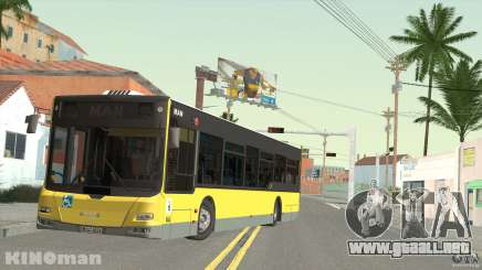 MAN Lion City para GTA San Andreas