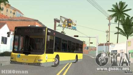 MAN Lion City para GTA San Andreas