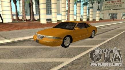 Lincoln Mark VIII 1996 para GTA San Andreas