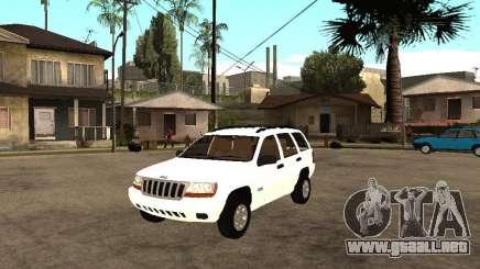 Jeep Grand Cherokee 99 para GTA San Andreas