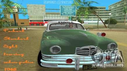 Packard Standard Eight Touring Sedan Police 1948 para GTA Vice City