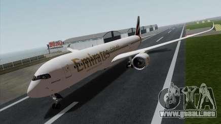 Airbus A350-900 Emirates para GTA San Andreas