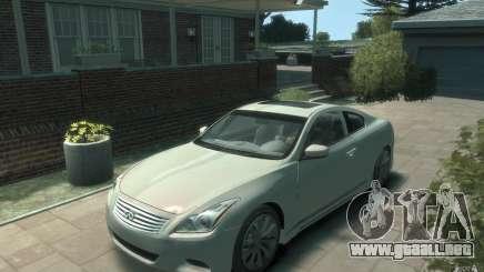 Infiniti G37 S para GTA 4