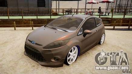 Ford Fiesta 2012 para GTA 4