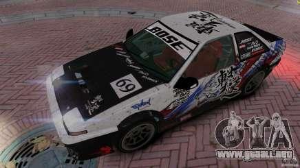 Toyota Corolla GT-S AE86 para GTA 4