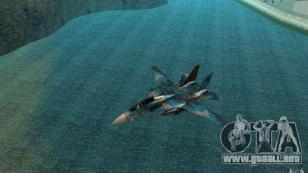 F-14 Tomcat Blue Camo Skin para GTA San Andreas