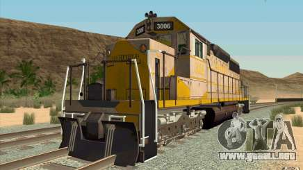 Clinchfield SD40 (Yellow & Grey) para GTA San Andreas
