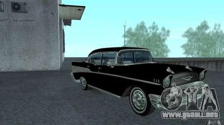Chevrolet BelAir 4 Door Sedan 1957 para GTA San Andreas