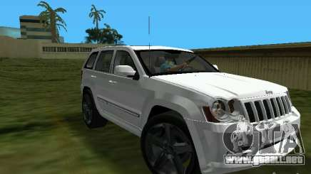 Jeep Grand Cherokee SRT8 TT Black Revel para GTA Vice City