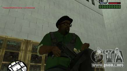 Black Weapon by ForT para GTA San Andreas