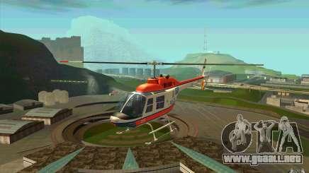 Bell 206 B Police texture2 para GTA San Andreas