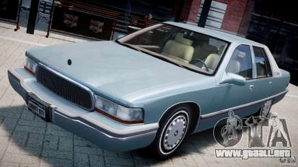 Buick Roadmaster Sedan 1996 v 2.0 para GTA 4