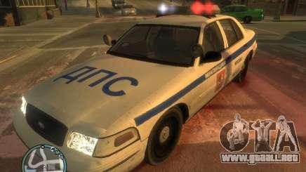 Policía de Ford Crown Victoria para GTA 4
