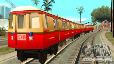 Liberty City Train DB para GTA San Andreas