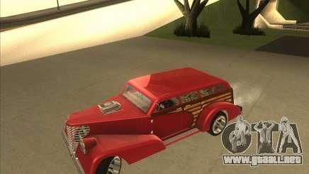 Custom Woody Hot Rod para GTA San Andreas