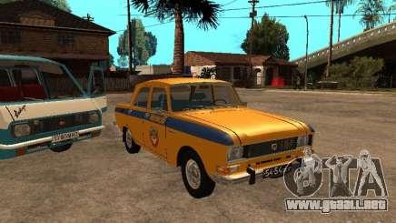 Versión temprana de la milicia AZLK 2140 para GTA San Andreas