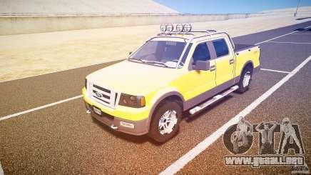 Ford F150 FX4 OffRoad v1.0 para GTA 4