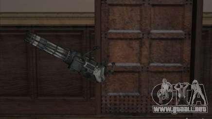 Ametralladora de Gears of War para GTA San Andreas