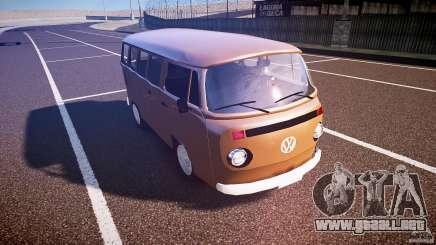 Volkswagen Kombi Bus para GTA 4