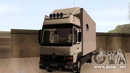 Mercedes-Benz Atego para GTA San Andreas