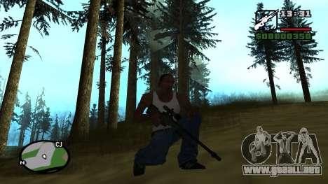 L96A1 para GTA San Andreas tercera pantalla