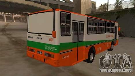 Tacurong Express 368 para la visión correcta GTA San Andreas