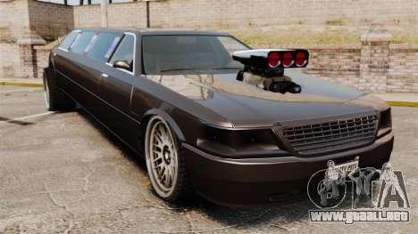 Limusina drag racing para GTA 4