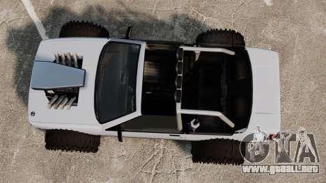 Jeep Futo Final para GTA 4 visión correcta
