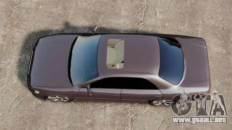 Toyota Mark II 1990 v1 para GTA 4 visión correcta