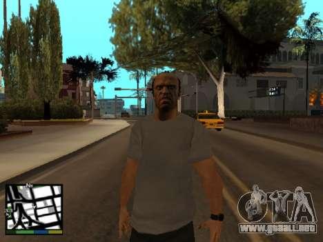 Trevor Philips de GTA 5 para GTA San Andreas tercera pantalla