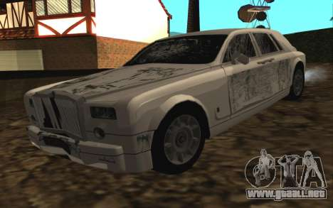 Rolls-Royce Phantom v2.0 para visión interna GTA San Andreas