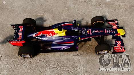 Coche, Red Bull RB9 v2 para GTA 4 visión correcta
