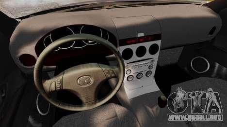 Mazda 3 Sport para GTA 4 Vista posterior izquierda