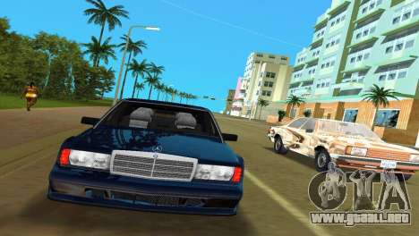 Mercedes-Benz 190E 1990 para GTA Vice City left