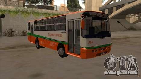 Tacurong Express 368 para GTA San Andreas left