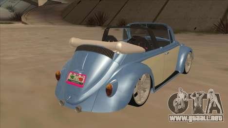 VW Beetle 1969 para la visión correcta GTA San Andreas
