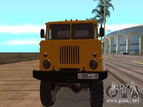 Camión de GAS-66 para GTA San Andreas left
