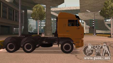 KAMAZ 260 Turbo para GTA San Andreas left