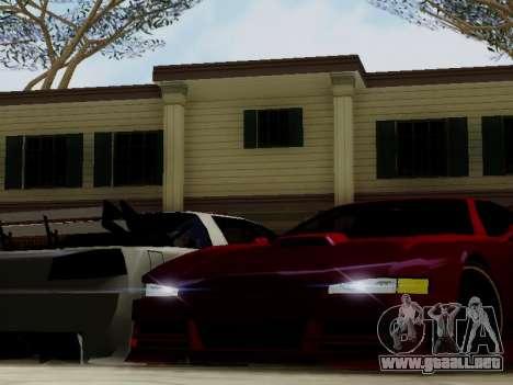 Infernus DoTeX para visión interna GTA San Andreas