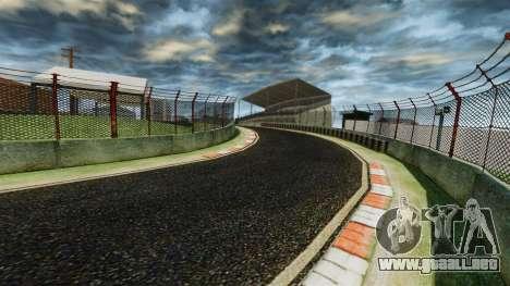 Pista de Nitro ultra para GTA 4 adelante de pantalla