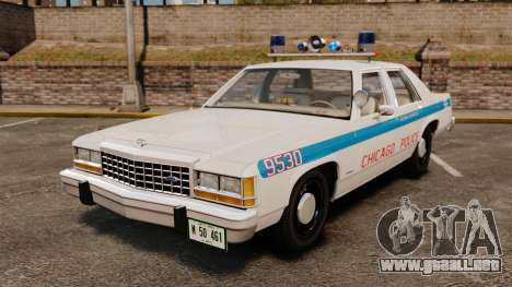 Ford LTD Crown Victoria 1987 [ELS] para GTA 4