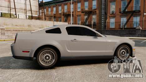 Ford Mustang Shelby GT500 2008 para GTA 4 left