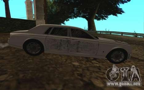 Rolls-Royce Phantom v2.0 para la vista superior GTA San Andreas