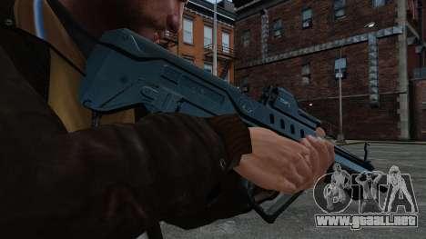 Rifle de asalto TAR-21 para GTA 4 tercera pantalla