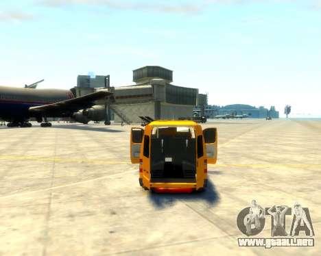 3221 Gacela para GTA 4 vista hacia atrás