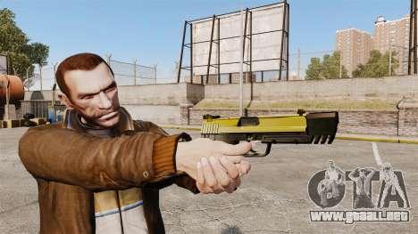 Pistola autocargable USP H & K v4 para GTA 4