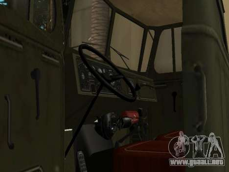 Ural 4320 Tonar para vista lateral GTA San Andreas