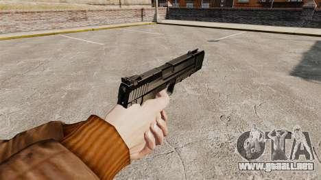 Pistola autocargable H & K USP v1 para GTA 4 segundos de pantalla