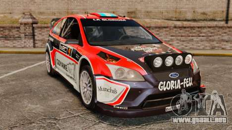 Ford Focus RS Munchis WRC para GTA 4